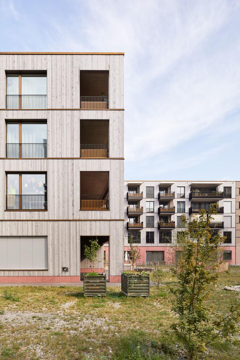 Stiftung Habitat, Galli Rudolf Architekten: Wohn- und Gewerbehäuser